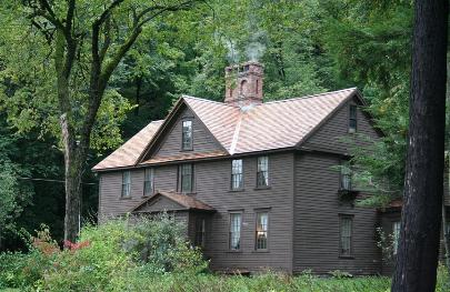 Outside view of the Orchard House