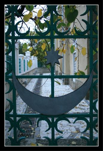 The gate of the mosque - Yevpatoria