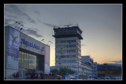 HDR of the domestic terminal of Borispyl Airport
