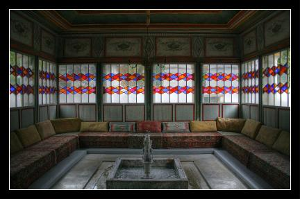 Meeting Room of the Palace - Bakhchisaray